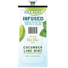 Flavia Cucumber Lime Mint Infused Water 100 Ct
