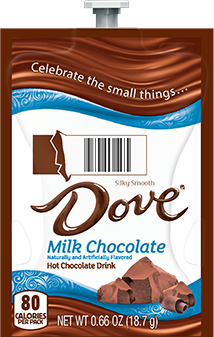 Dove Hot Chocolate 72ct