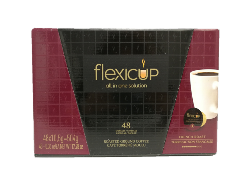 Flexicup French Roast Coffee Capsules 48CT