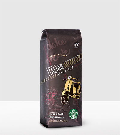Starbucks Italian Roast Whole Bean 1lb