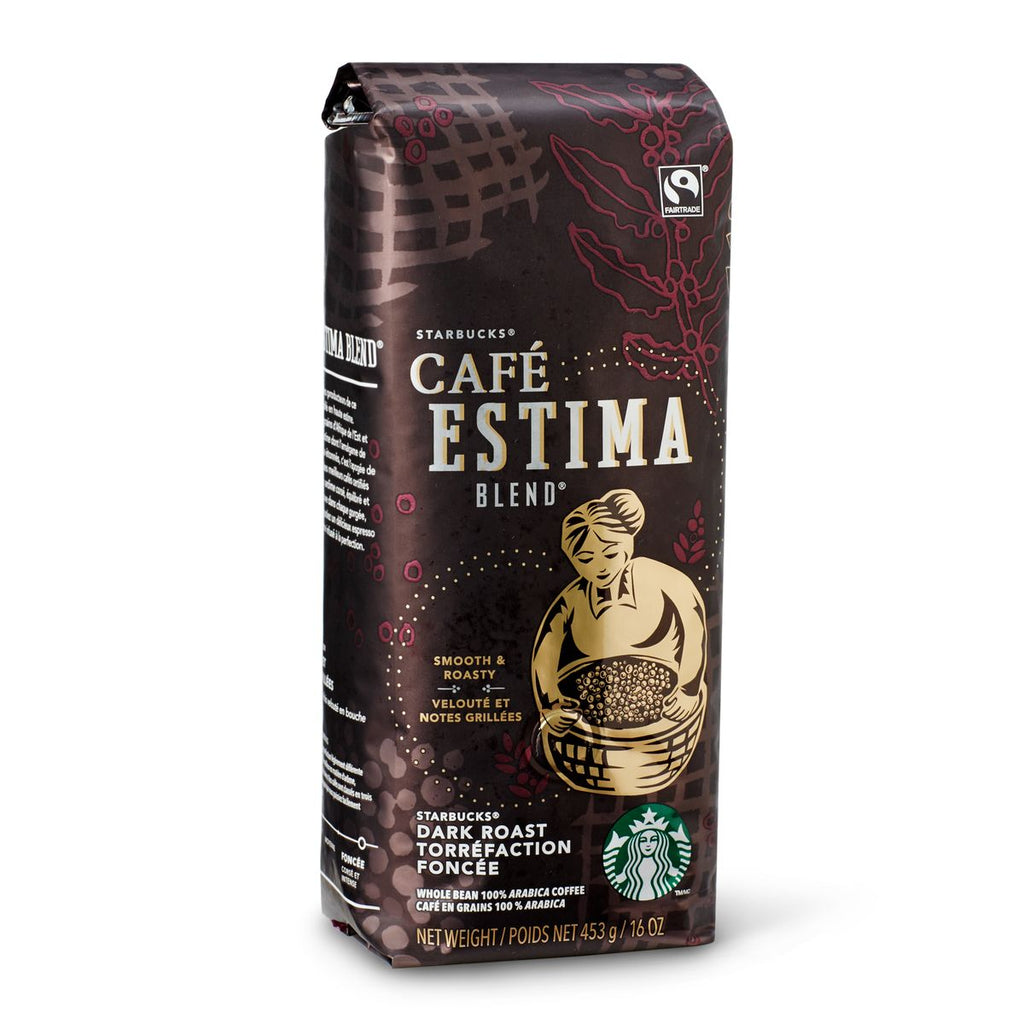 Starbucks Cafe Estima Whole Bean 1lb