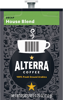 Flavia Alterra House Blend Decaf 100ct