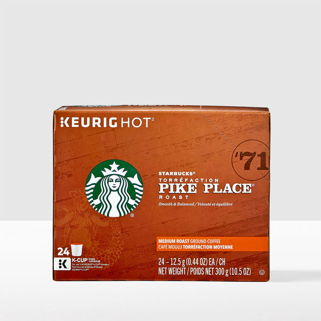 STARBUCKS PIKE PLACE ROAST K CUP 24 CT