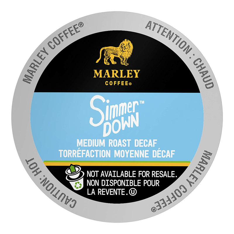 Marley Simmer Down Decaf Eco Cup 24 CT