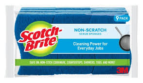 Scotch-Brite No Scratch Scrub Sponge - 9 Pack