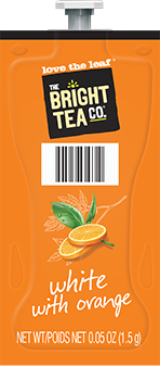 Flavia Bright Tea White With Orange 100ct