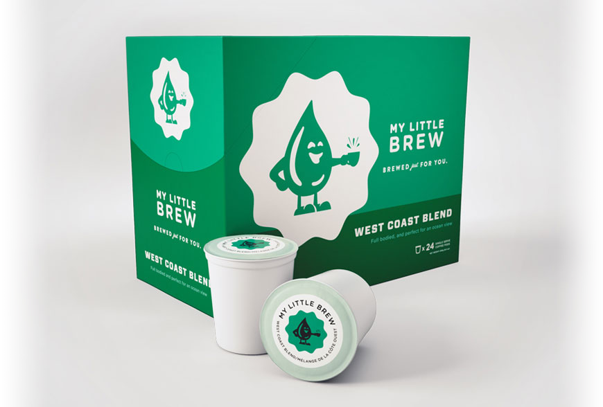 My Little Brew West Coast Blend K Cups 24 CT