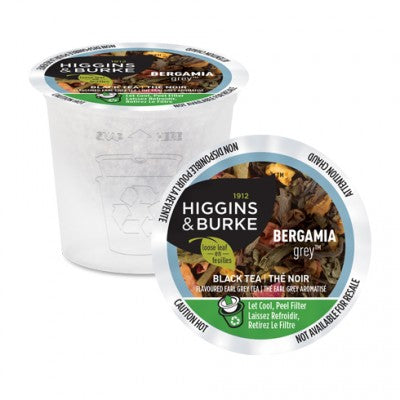 Higgins & Burke Loose Leaf Bergamia Grey  24 CT