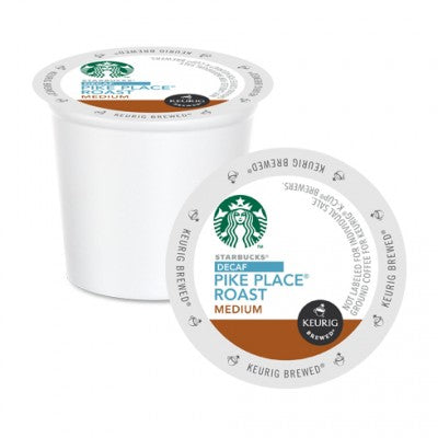 Starbucks Decaf Pike Place K Cups 24 CT