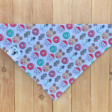 Christmas Donuts Dog Bandana