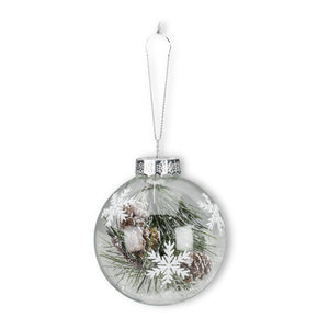 Pine and Bough Ornament
