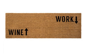 Wine Work Door Mat - Large
