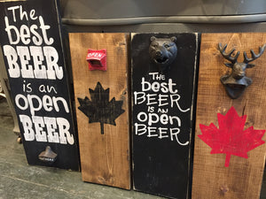 Beer Opener Workshop - Whitby Location