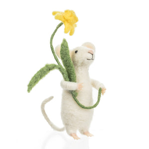 Mouse with Daffodil