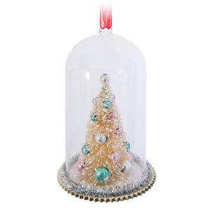 Tree in Cloche-Ornament