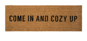 Come in and Cozy Up Door Mat - Large