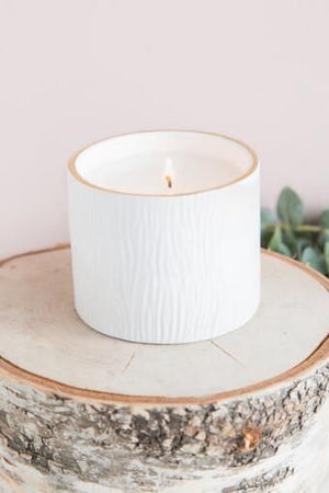 Frasier Fir-Gold Rim Candle