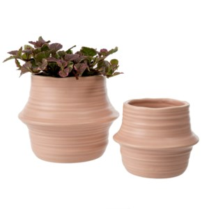 Belly Basket Pot - Blush