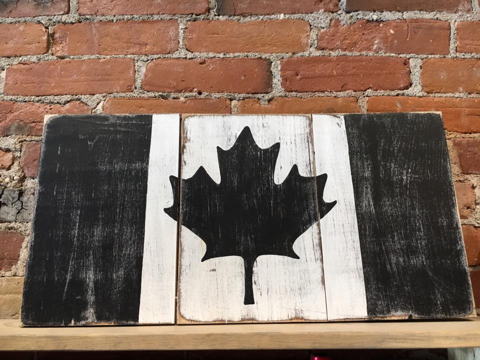 Canada Flag Workshop
