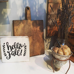 Fall Signs Workshop | Whitby Location
