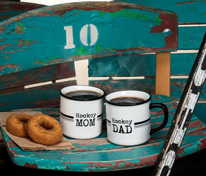 Hockey Mom and Dad Stoneware Mug