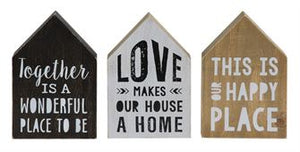 House Sayings