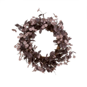 Plum Eucalyptus Wreath