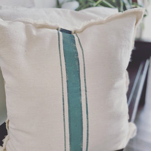 Vintage Farmhouse Strip Pillow