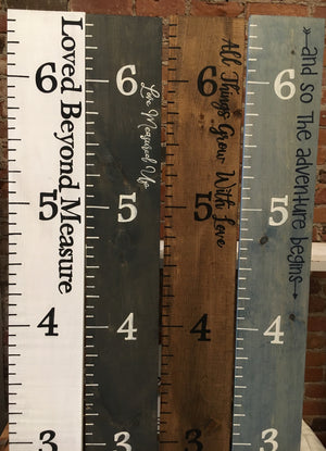 Growth Rulers