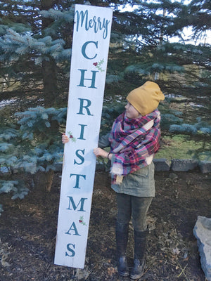 Extra Tall Merry Christmas Sign