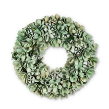 Load image into Gallery viewer, Faux Succulent Wreath