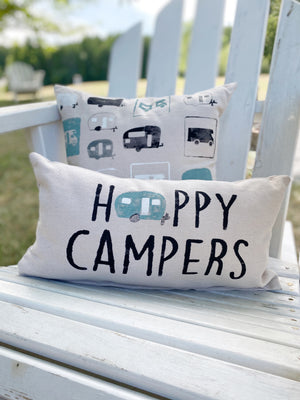 Happy Campers pillow set