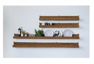 Wicker Wall Shelf