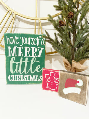 Christmas/Holiday Signs Workshop To Go