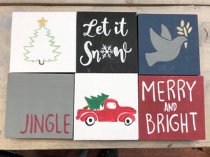 Holiday Mini Signs | Whitby