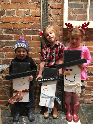 Kids Snowman Workshop | Port Perry