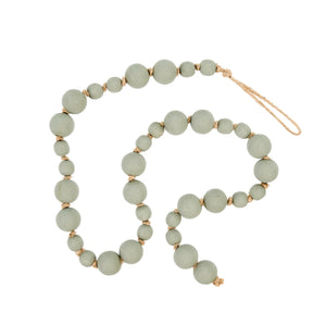 grey prayer beads