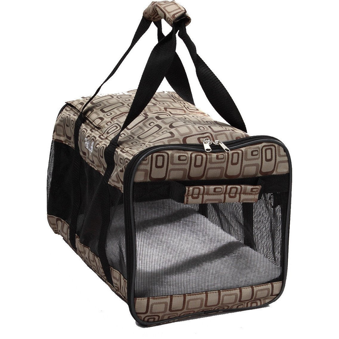 Airline Approved Pet Carrier - Jacquard Print