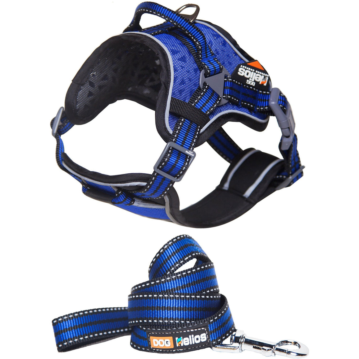 Pet Harness and Leash Combo - Blue