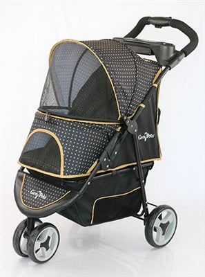 Designer Pet Stroller- Checkered
