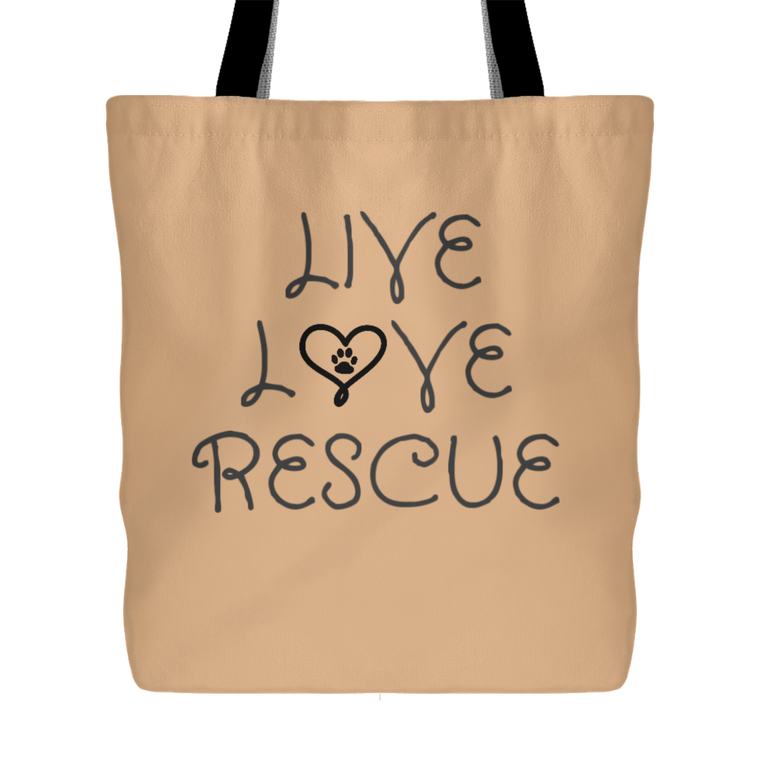 Live Love Rescue Tote