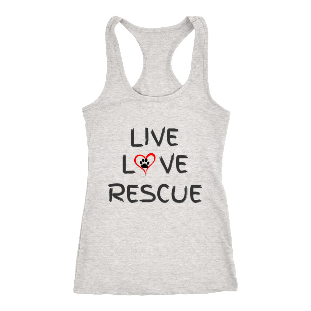 LIVE LOVE RESCUE - Womens Tank