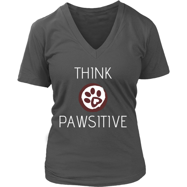 Think Pawsitive Women's T-shirt