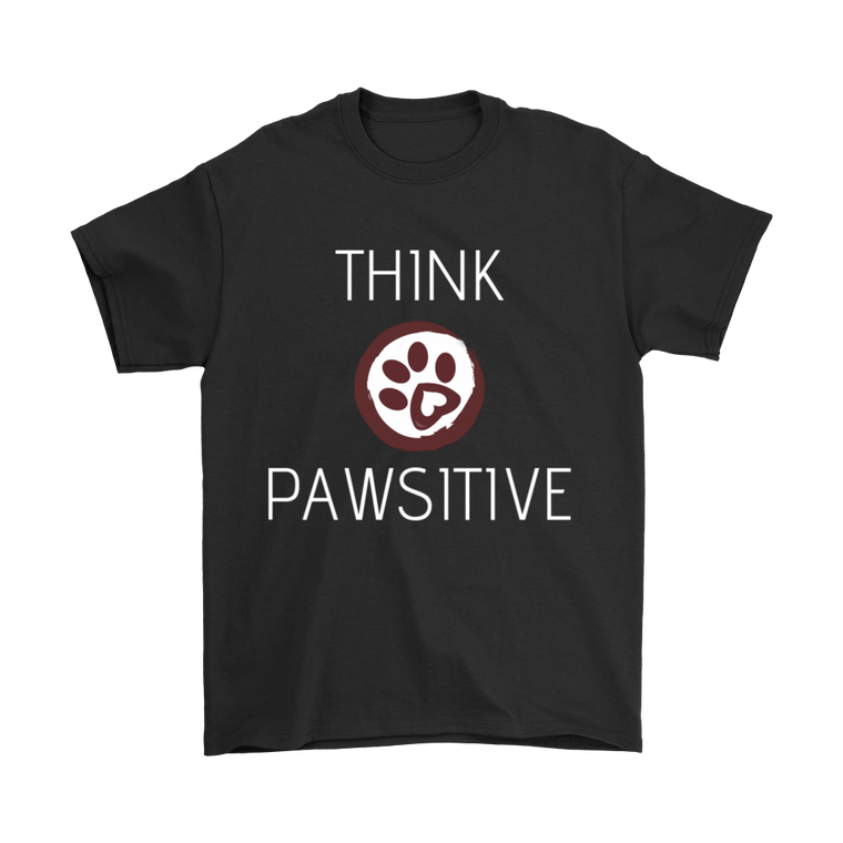 Think Pawsitive Mens T-Shirt