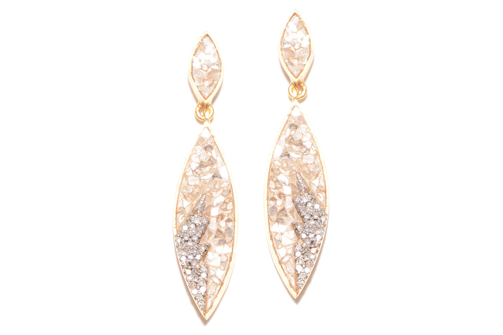 Tatiana Earrings YG