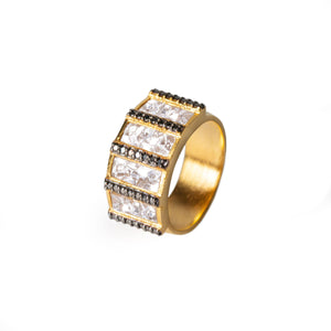 Ajmer Ring Black Diamond
