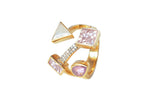 Bianca Ring Pink Tourmaline