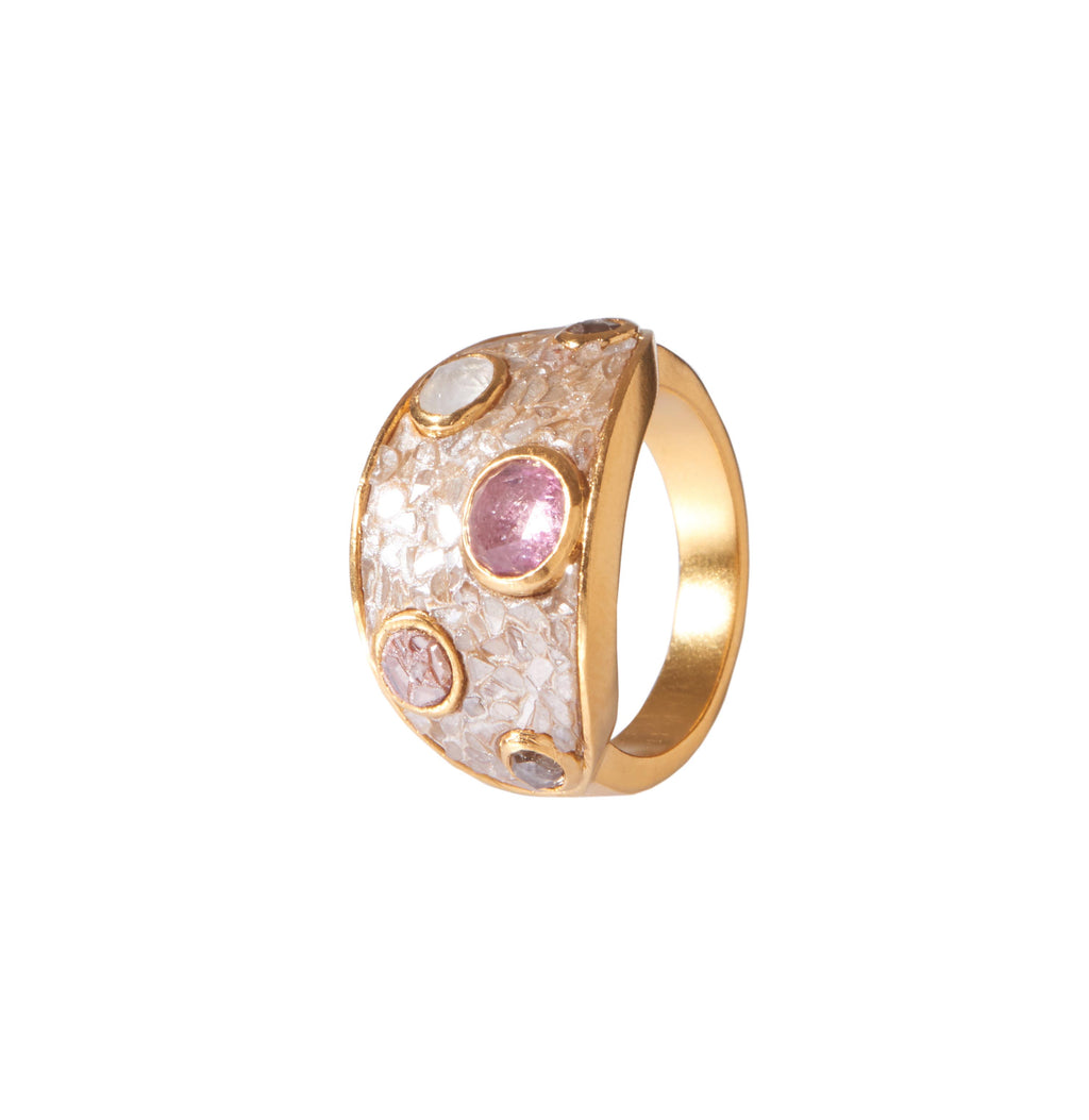 Nimos Ring Pink Tourmaline
