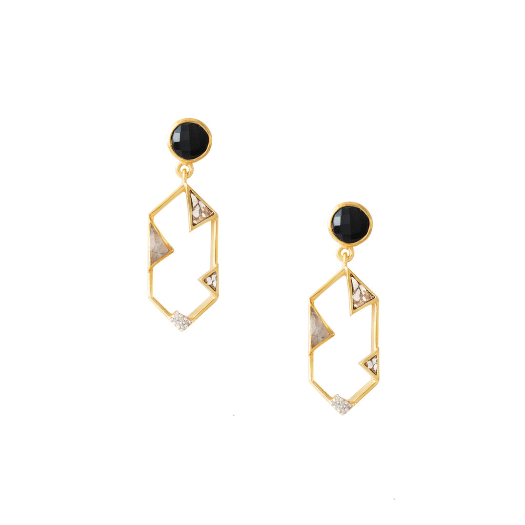 AVEN EARRINGS YG