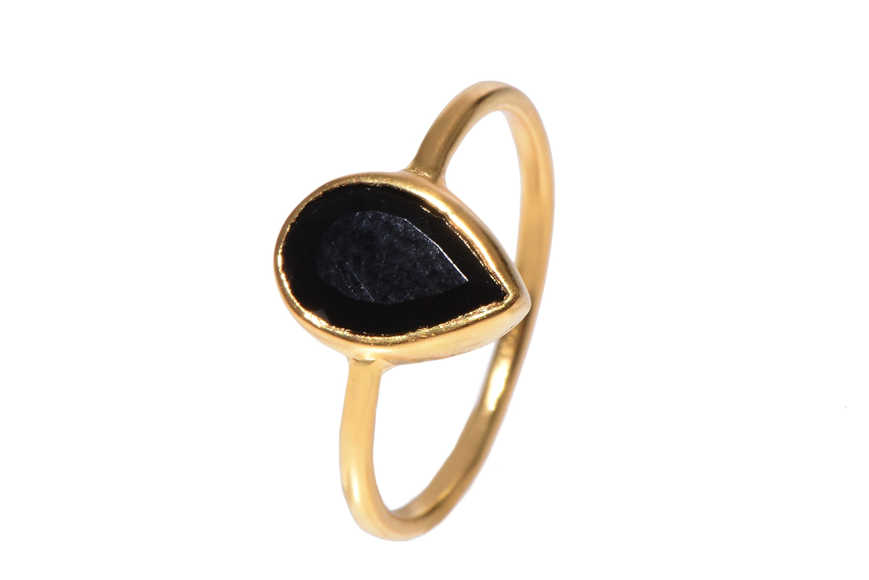Black Onyx Ring YG